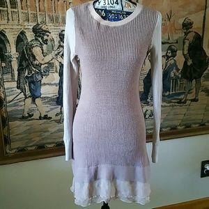 LOGO LORI GOLDSTEIN TUNIC DRESS